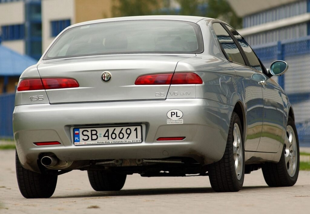 ALFA ROMEO 156 I FL 2.5 V6 24V 192KM 6MT SB46691 10-2003