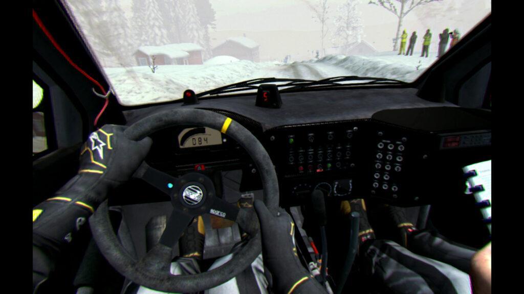 Dirt Rally - Tryb VR