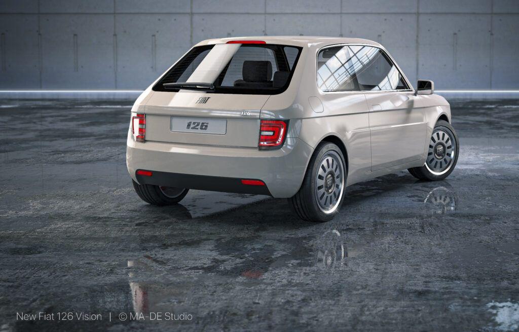 Fiat 126 Vision elektryczny