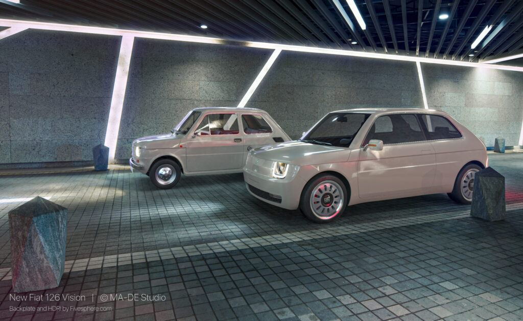 Fiat 126 Vision i Fiat 126
