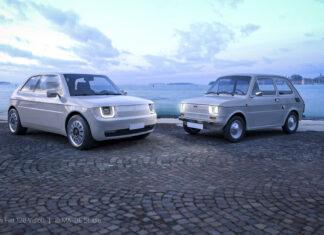 Maluch powrócił! Elektryczny Fiat 126 Vision