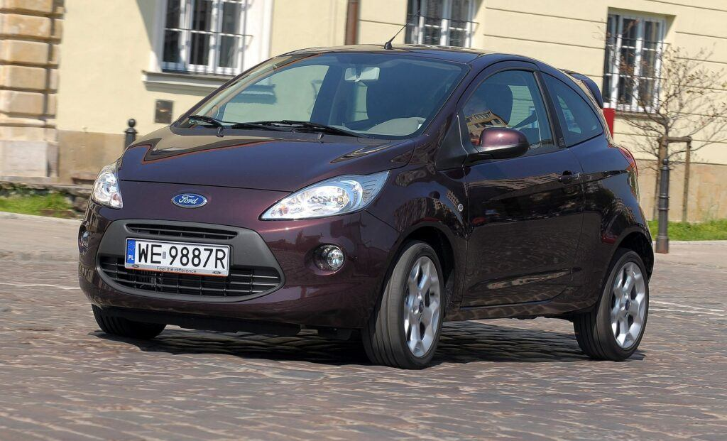 FORD Ka II 1.3TDCi 75KM 5MT WE9887R 04-2009