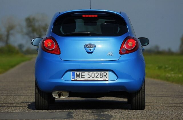 FORD Ka II 1.2 8V 69KM 5MT WE5028R 09-2009