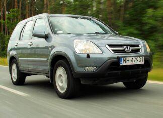 Używana Honda CR-V II (2001-2007) - opinie, dane techniczne, typowe usterki