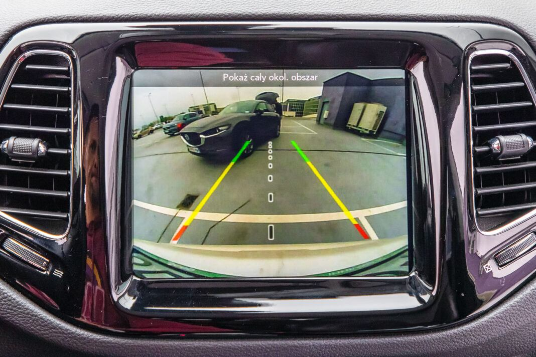 Jeep Compass - kamera