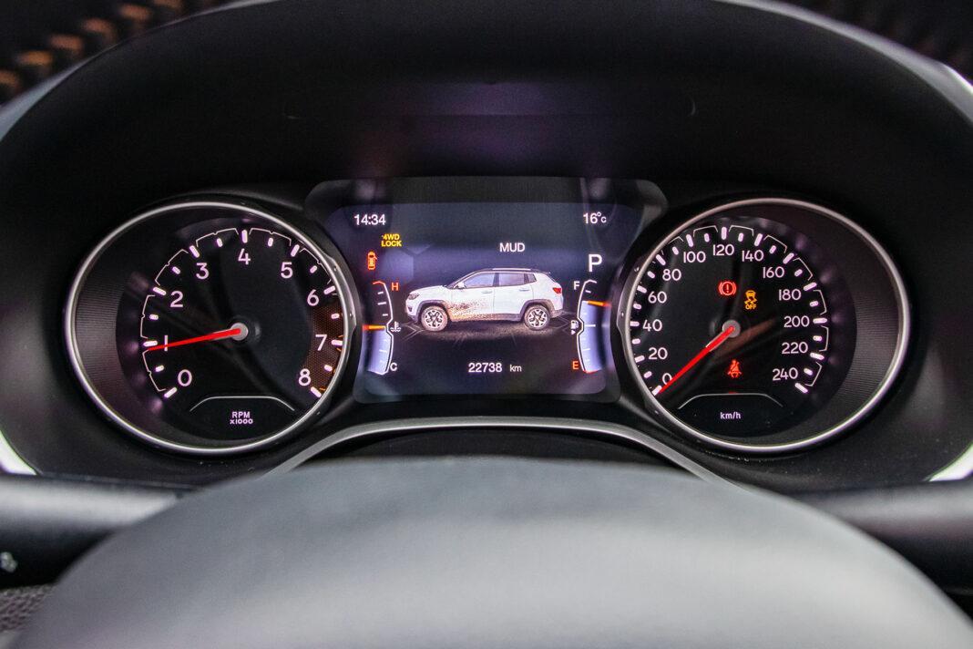 Jeep Compass - zegary