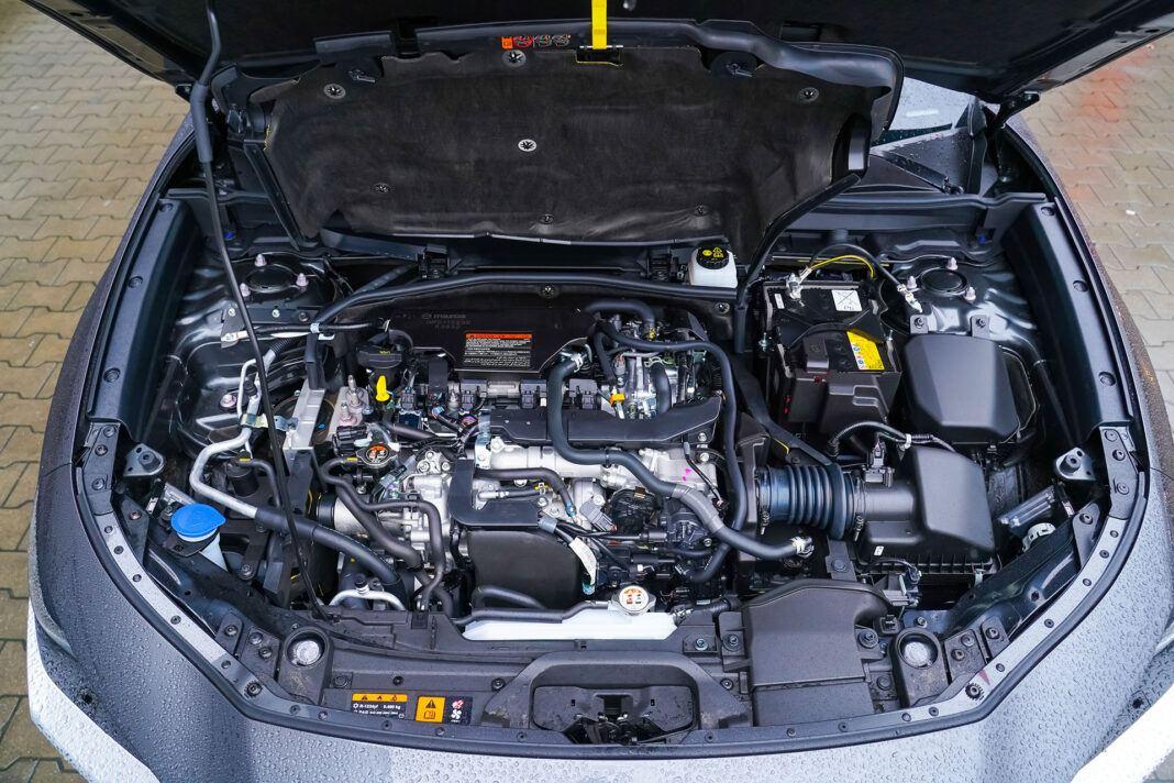 Mazda CX-30 - silnik