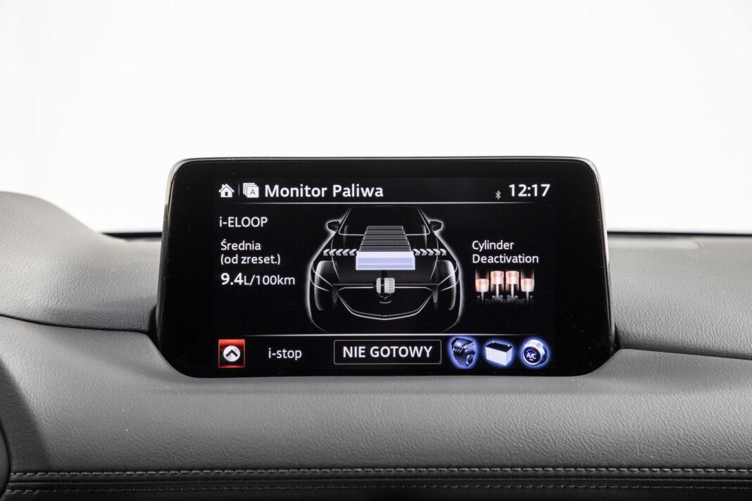 Mazda CX-5 - ekran centralny