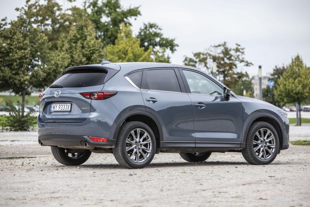 Mazda CX-5 - prawy tył