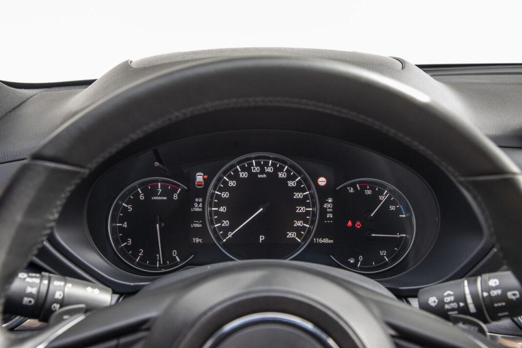 Mazda CX-5 - zegary
