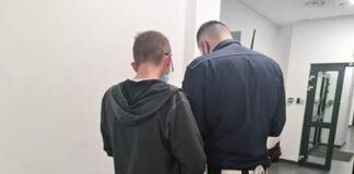 Policja - badanie alkomatem