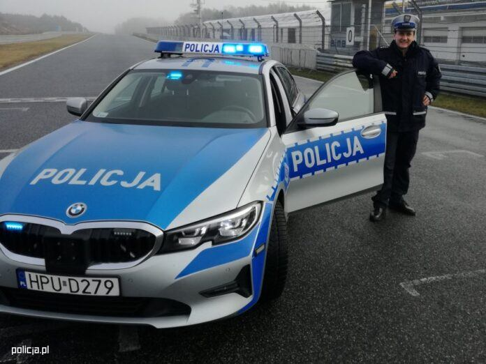 Policyjne BMW 3