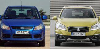 Suzuki SX4 i Suzuki SX4 S-Cross
