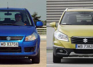 Używane Suzuki SX4 i Suzuki SX4 S-Cross - którego wybrać?