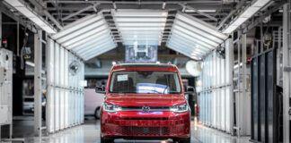 Volkswagen Caddy - fabryka w Poznaniu