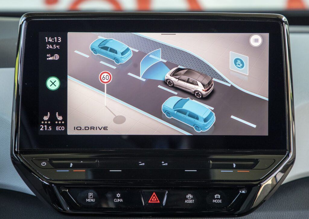 Volkswagen ID.3 - systemy bezpieczeństwa