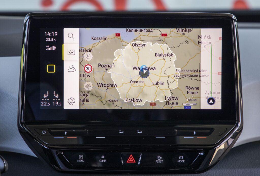 Volkswagen ID.3 zasięg na jednym ladowaniu