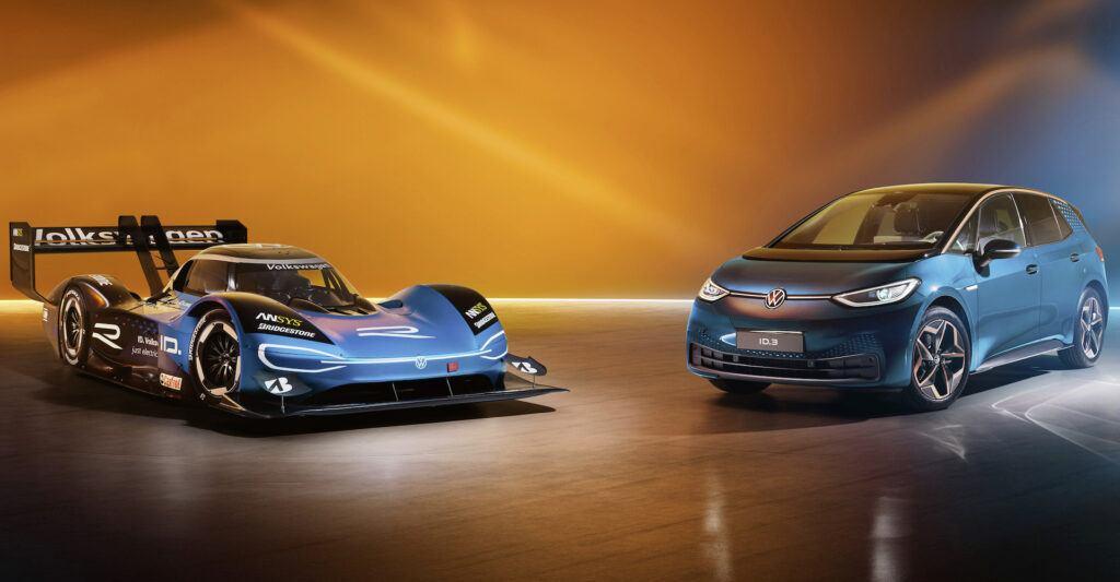 Volkswagen ID.R i Volkswagen ID.3