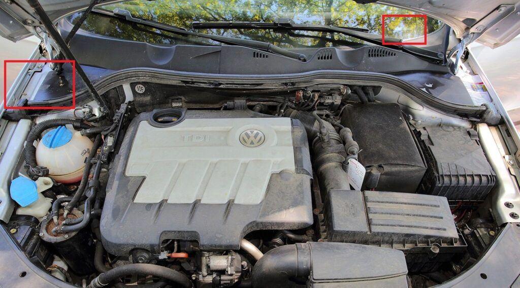 Volkswagen Passat B6 - numer VIN