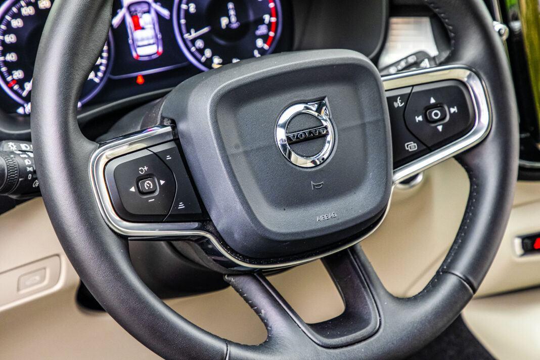 Volvo XC40 - kierownica