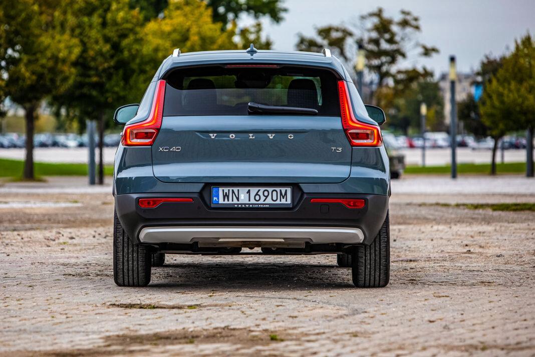 Volvo XC40 - tył