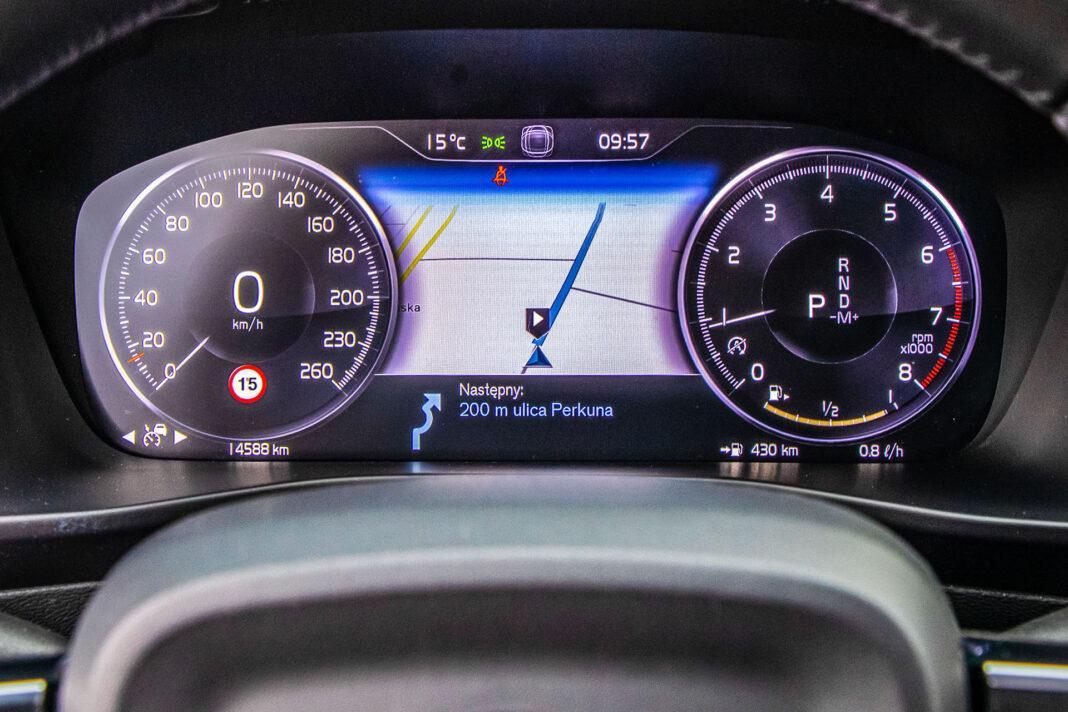 Volvo XC40 - wskaźniki