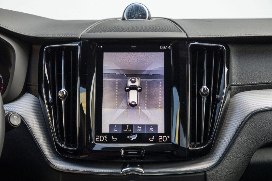 Volvo XC60 - kamery