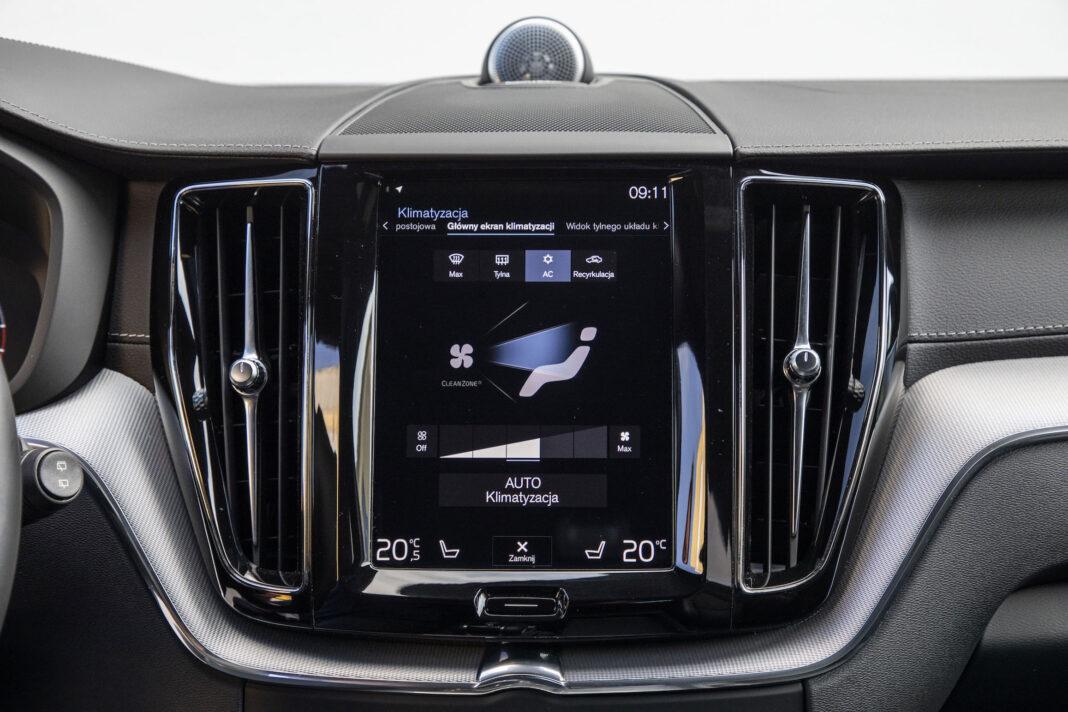 Volvo XC60 - klimatyzacja