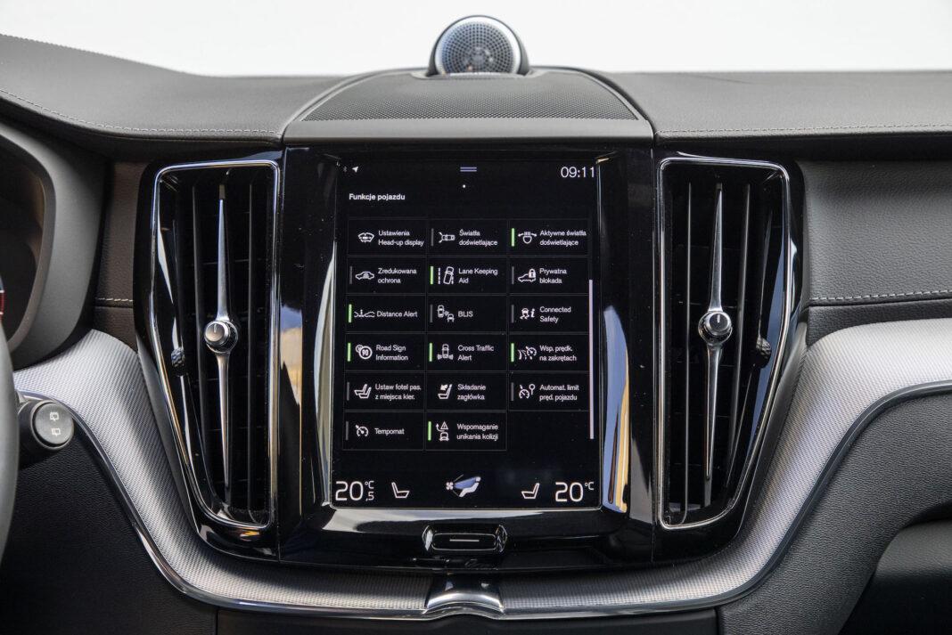 Volvo XC60 - funkcje
