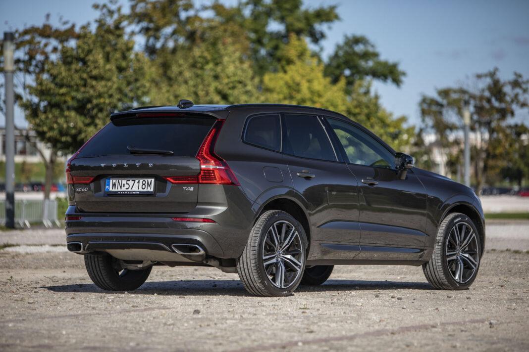 Volvo XC60 - prawy tył