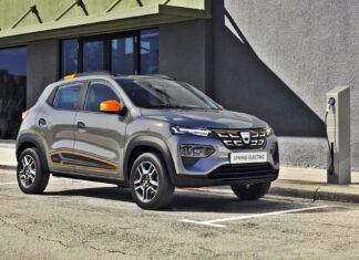 Elektryczna Dacia Spring – oficjalne zdjęcia i informacje