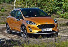 Ford Fiesta Active - przód