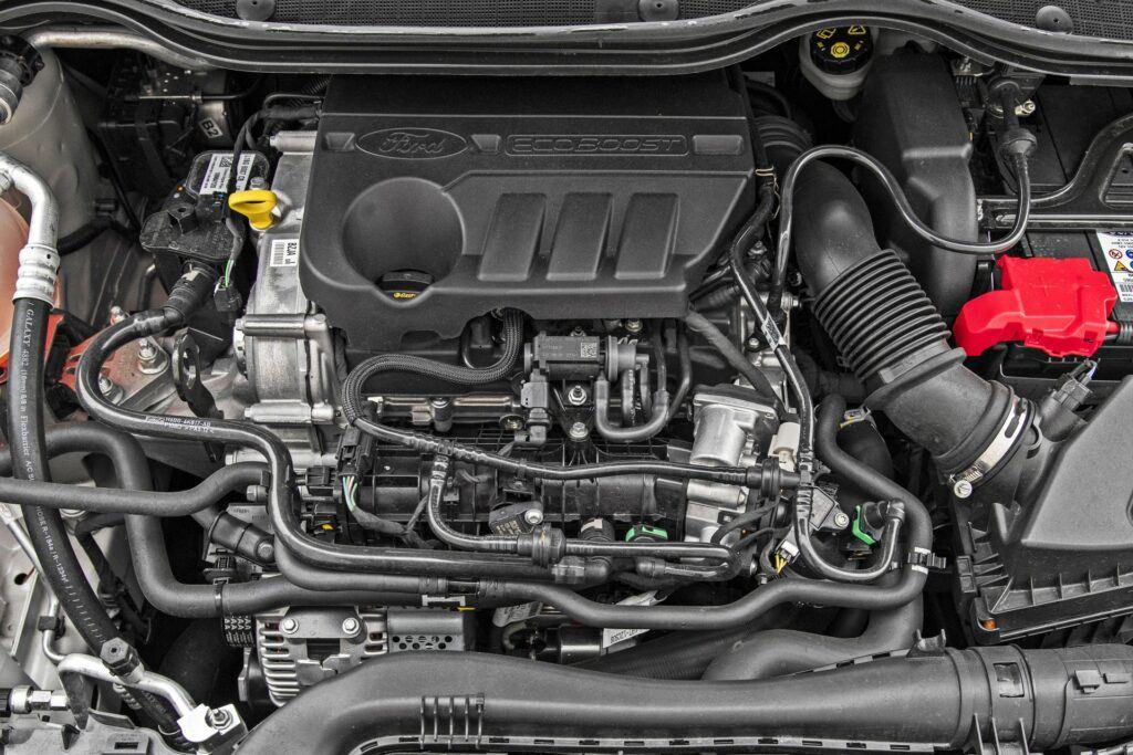 Ford Fiesta - silnik