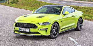 Ford Mustang GT - przód