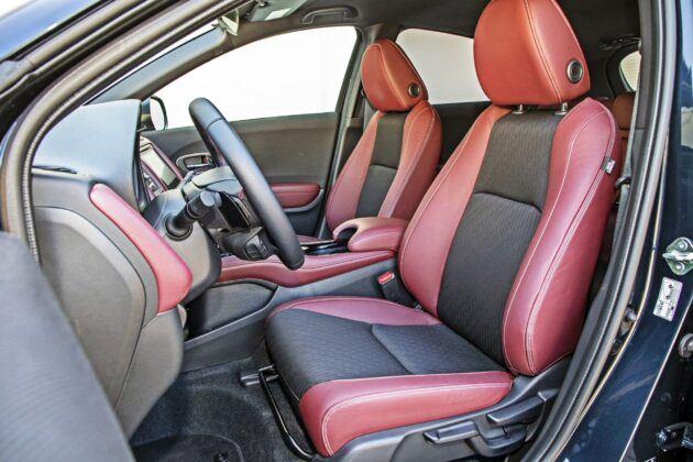 Honda HR-V - fotele przednie