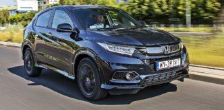 Honda HR-V - przód