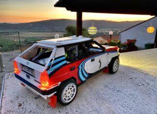 Lancia Delta Integrale z klocków. Jej budowa trwała 15 miesięcy!