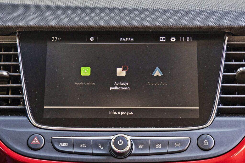 Opel Crossland - Apple CarPlay i Android Auto