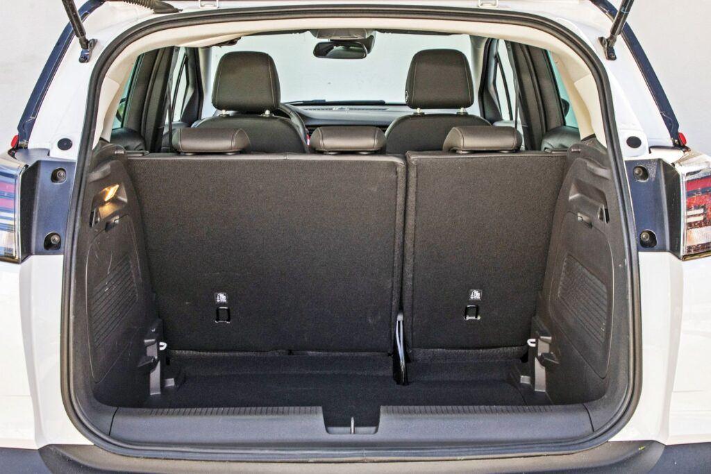 Opel Crossland - bagażnik
