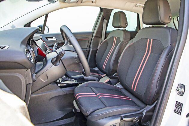 Opel Crossland - fotele przednie
