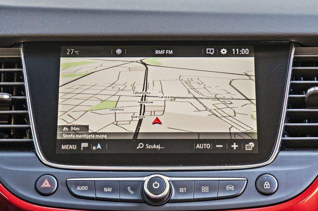 Opel Crossland - system multimedialny