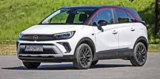 Opel Crossland - przód