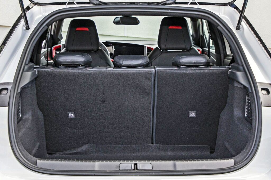 Opel Mokka - bagażnik