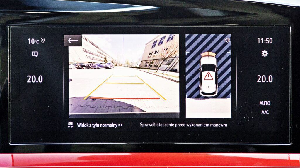 Opel Mokka - kamera cofania