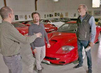 Richard Hammond odzyskał swoje Ferrari. Co o nim sądzi?