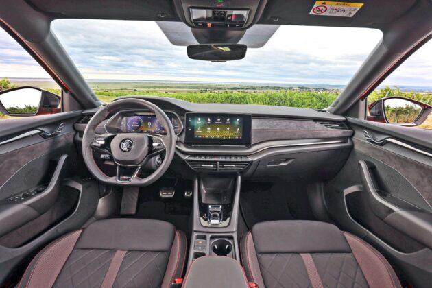 Nowa Skoda Octavia RS (2020)