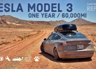 Tesla Model 3 po 100 000 km – raport z eksploatacji