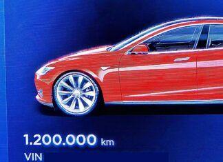 Rekordowa Tesla Model S jedzie dalej. Ma już 1,2 miliona km na liczniku!