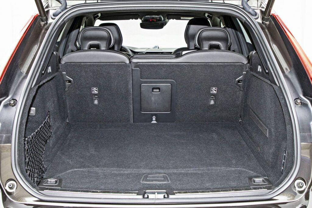 Volvo XC60 - bagażnik