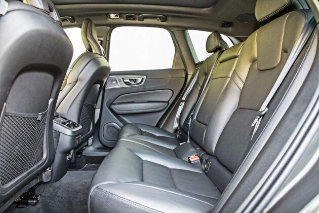 Volvo XC60 - tylna kanapa